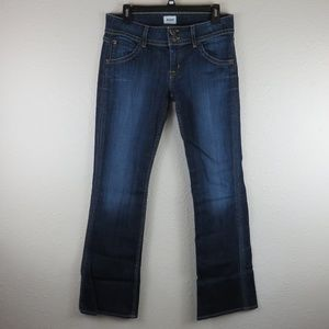 Hudson Signature Boot Cut Jeans in Elm - Size 29